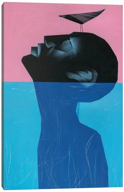 Drowning Voluntary II Canvas Art Print