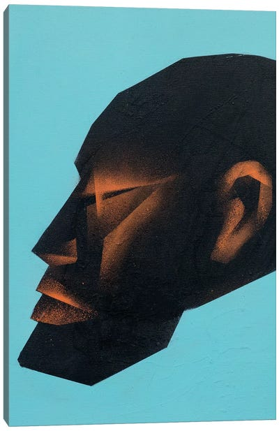 Head I Canvas Art Print