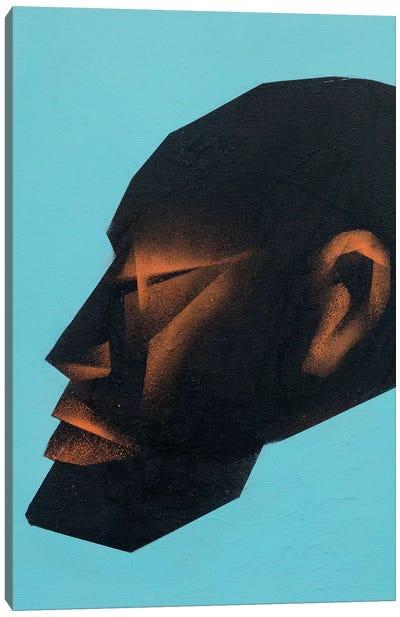 Head I Canvas Art Print