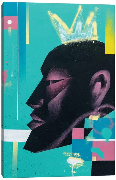 King Canvas Art Print