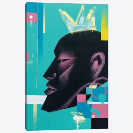 King Canvas Print #CVT18} by VCalvento Art Print