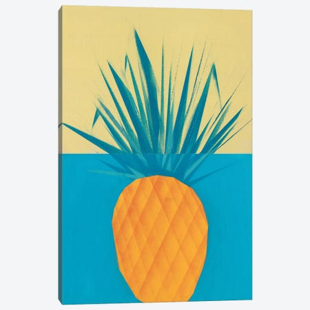 Pineapple Canvas Print #CVT24} by VCalvento Canvas Art Print