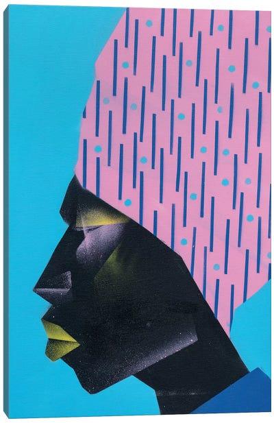 Pink Turban Canvas Art Print