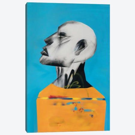 Yellow Portrait Canvas Print #CVT28} by VCalvento Canvas Artwork