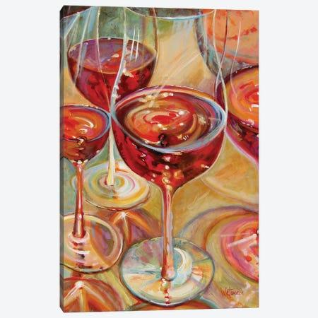 Full Bodied Reds Canvas Print #CWB11} by Carole Rae Watanabe Canvas Wall Art