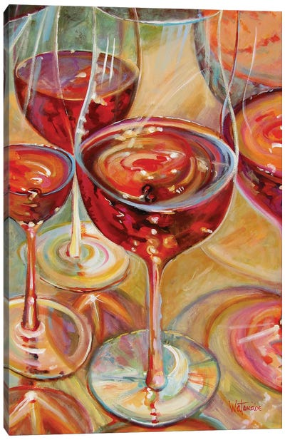 Full Bodied Reds Canvas Art Print