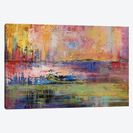Fresh Reflections Canvas Print #CWB17} by Carole Rae Watanabe Canvas Art Print