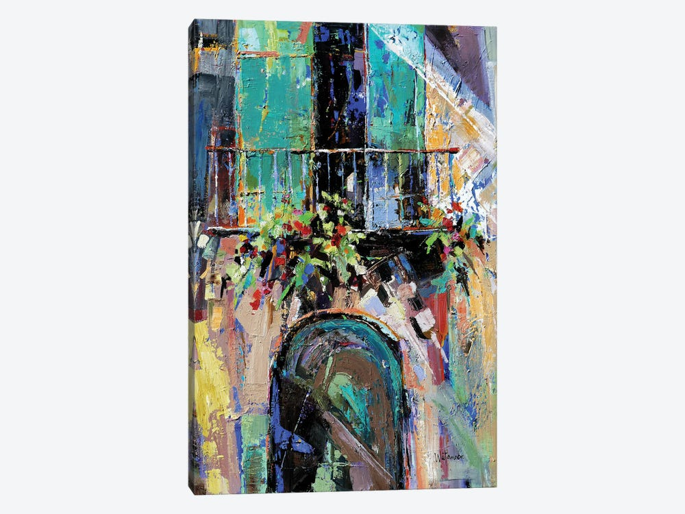 The Plan Of Now by Carole Rae Watanabe 1-piece Canvas Print