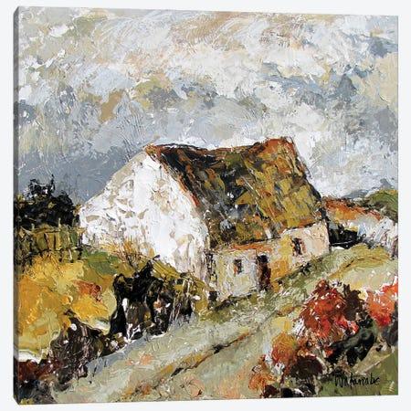 Clare Island Cottage Canvas Print #CWB27} by Carole Rae Watanabe Canvas Artwork