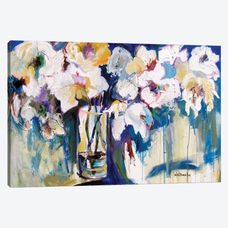 Hello Gorgeous Canvas Print #CWB35} by Carole Rae Watanabe Canvas Art Print