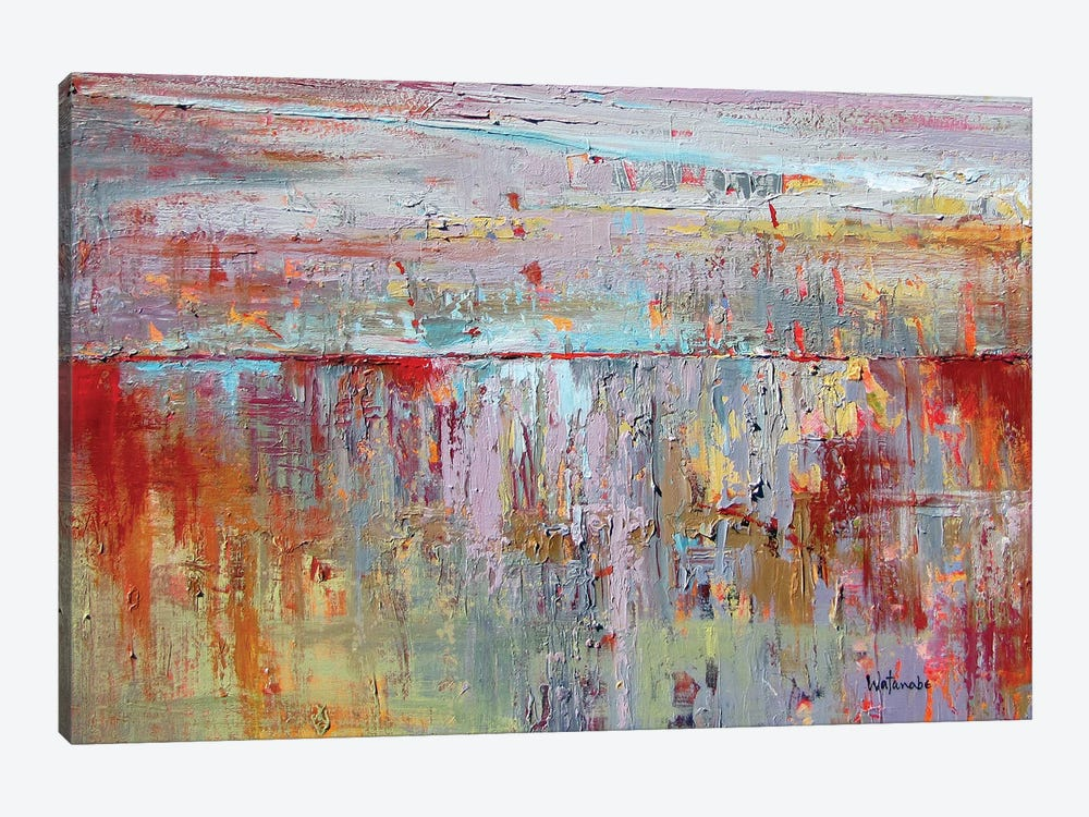 Un Choix Naturel by Carole Rae Watanabe 1-piece Canvas Art Print
