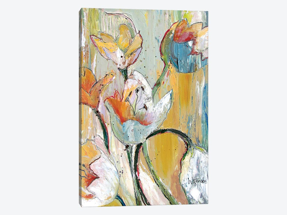 Summer Breeze by Carole Rae Watanabe 1-piece Canvas Art Print
