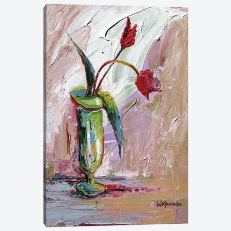 Poetic Life Canvas Print #CWB43} by Carole Rae Watanabe Canvas Print