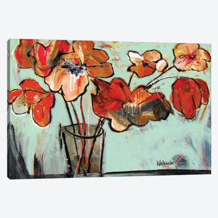 Respect Canvas Print #CWB46} by Carole Rae Watanabe Canvas Wall Art