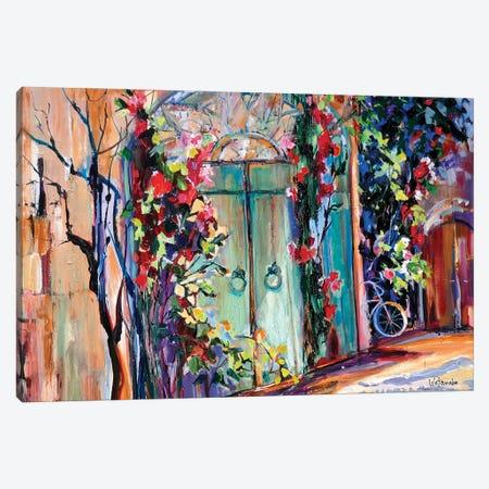 Magical Collioure Canvas Print #CWB47} by Carole Rae Watanabe Canvas Artwork