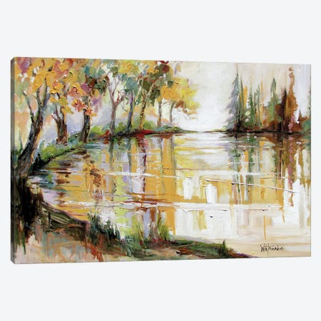 Song Of Silence Canvas Print #CWB56} by Carole Rae Watanabe Canvas Art Print
