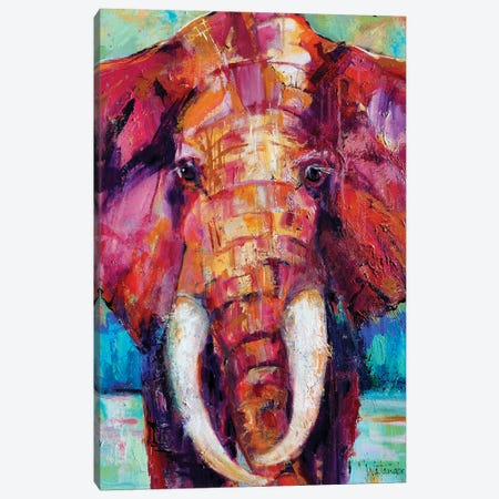 Connecting With A Potent Being Canvas Print #CWB63} by Carole Rae Watanabe Canvas Print
