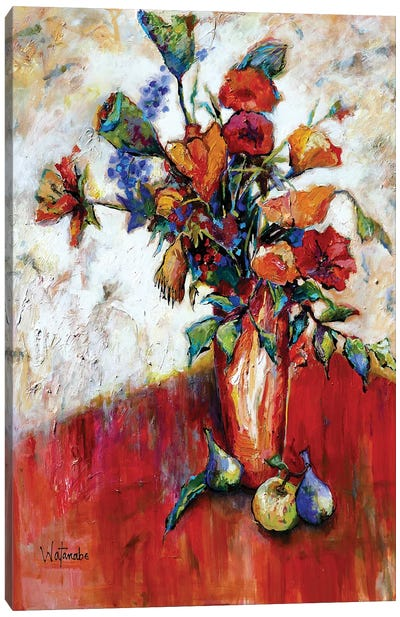 Deanna'S Bouquet Canvas Art Print