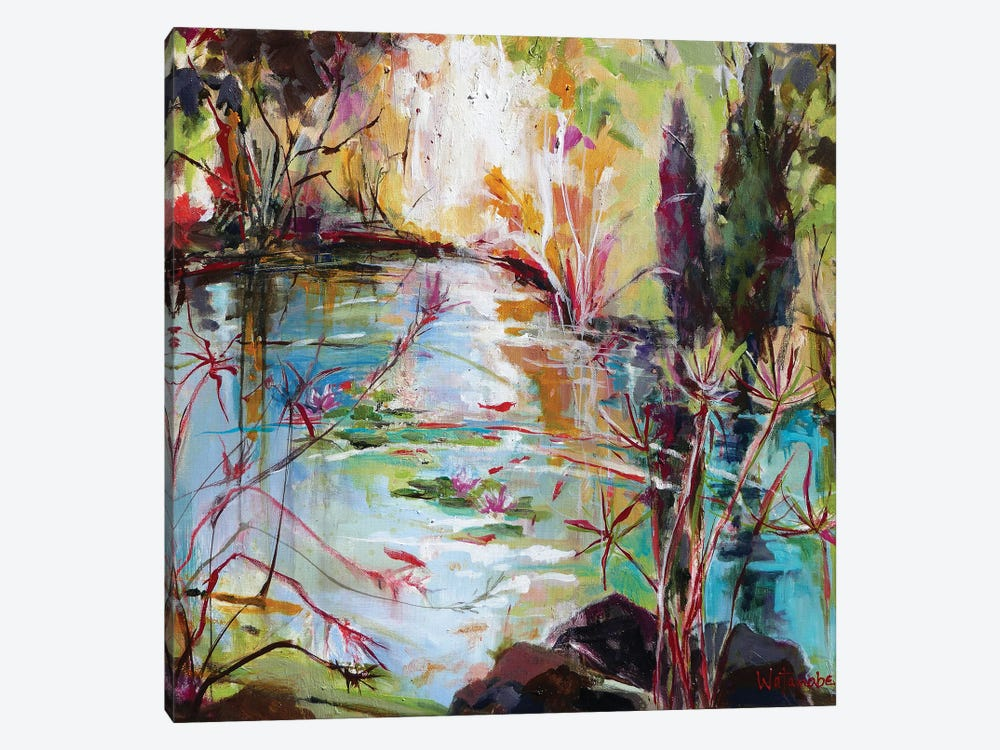 Reflecting On Recovery by Carole Rae Watanabe 1-piece Art Print