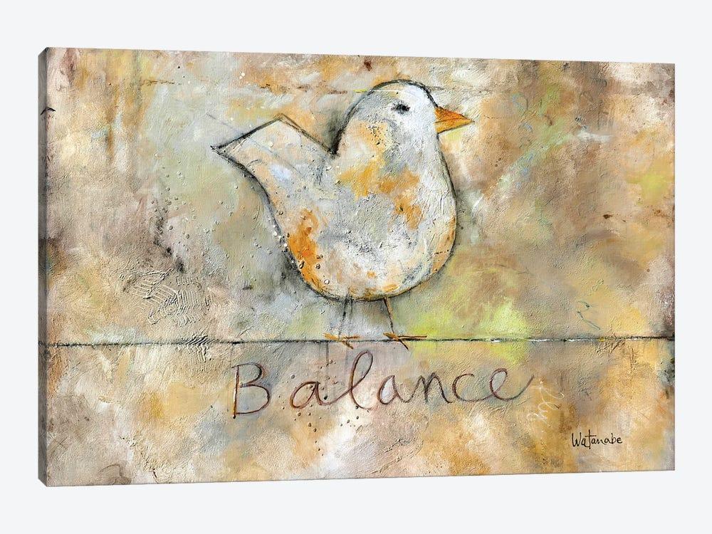 Balance by Carole Rae Watanabe 1-piece Canvas Art Print