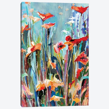 Drenched In Spirit A Canvas Print #CWB77} by Carole Rae Watanabe Art Print