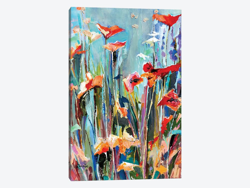Drenched In Spirit A by Carole Rae Watanabe 1-piece Canvas Artwork