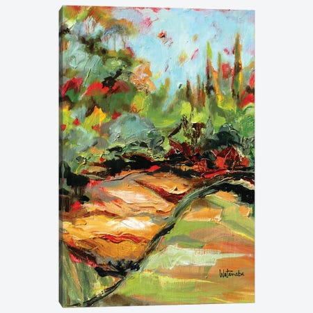 Path To Wonder Canvas Print #CWB78} by Carole Rae Watanabe Canvas Artwork