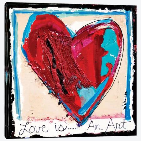 Forever Love Canvas Print #CWB89} by Carole Rae Watanabe Canvas Print