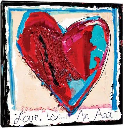 Forever Love Canvas Art Print