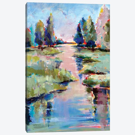 Tres Belle Canvas Print #CWB94} by Carole Rae Watanabe Canvas Print