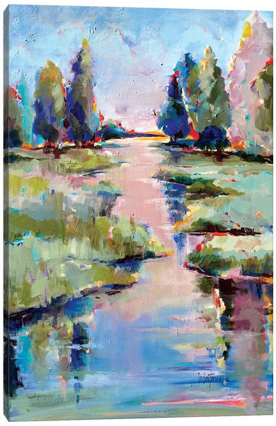 Tres Belle Canvas Art Print