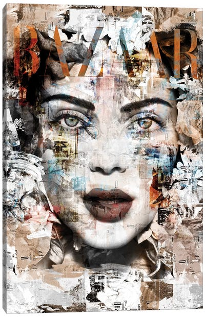 Cover Story II Canvas Art Print