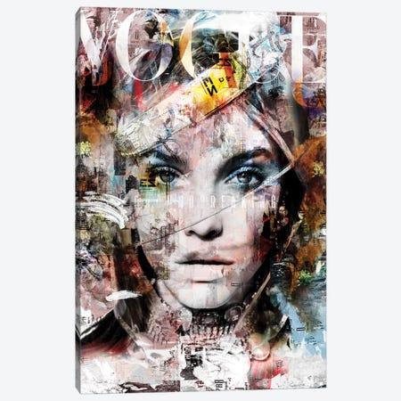 Cover Story V Canvas Print #CWD15} by Caroline Wendelin Art Print