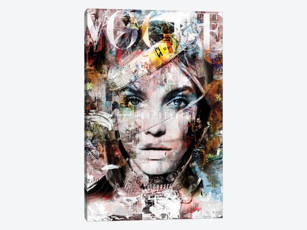 Cover Story V by Caroline Wendelin 1-piece Canvas Artwork