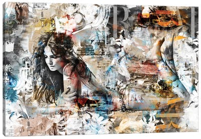 Cover Story VI Canvas Art Print