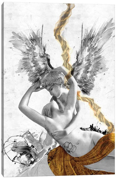 Cupid's Kiss Canvas Art Print