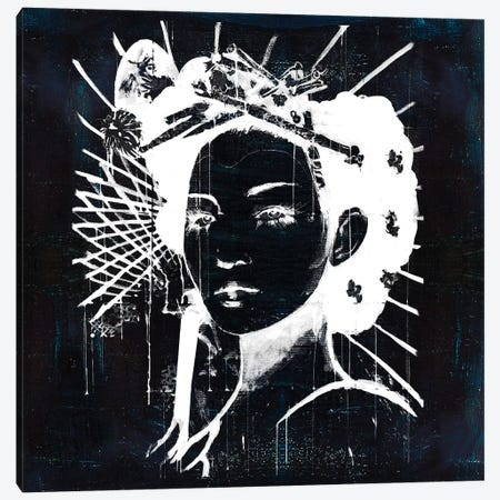 Geisha I Canvas Print #CWD24} by Caroline Wendelin Canvas Artwork