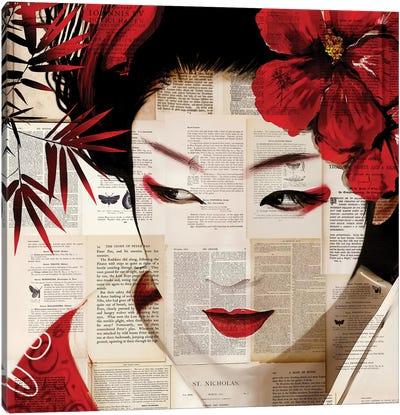 Geisha II Canvas Art Print