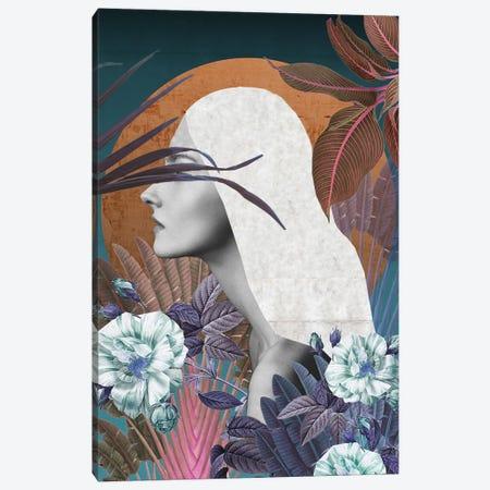 Midnight Canvas Print #CWD34} by Caroline Wendelin Canvas Art Print