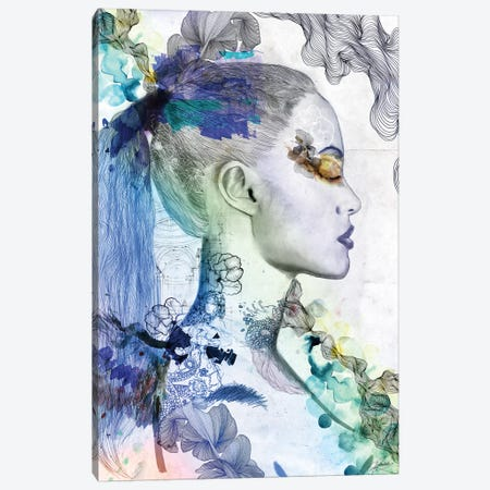 Mindfull Canvas Print #CWD35} by Caroline Wendelin Canvas Art Print