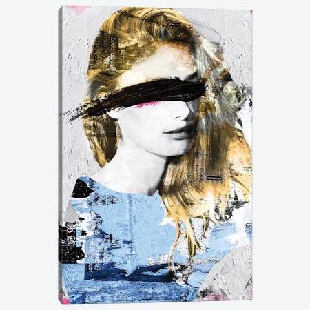 Paper Girl III Canvas Print #CWD42} by Caroline Wendelin Canvas Print