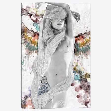 Passion Canvas Print #CWD44} by Caroline Wendelin Canvas Artwork