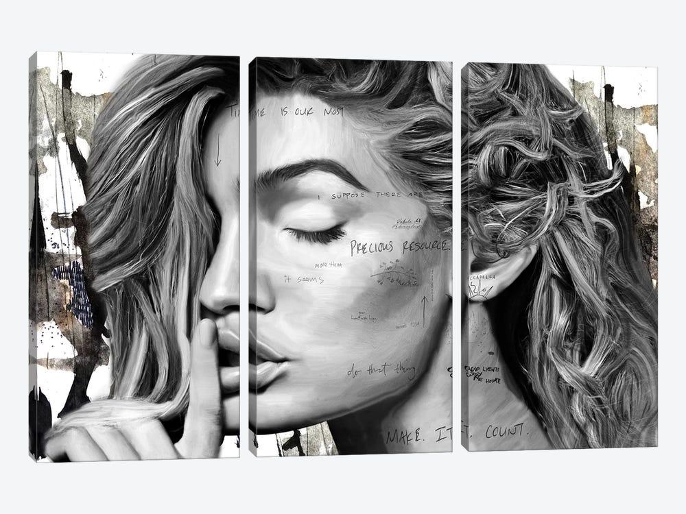 Secrets by Caroline Wendelin 3-piece Canvas Art Print