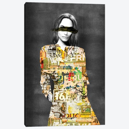 Silent Canvas Print #CWD52} by Caroline Wendelin Canvas Wall Art