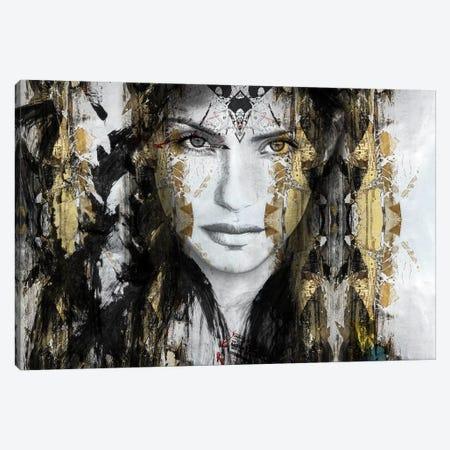Thunder Canvas Print #CWD55} by Caroline Wendelin Canvas Art Print
