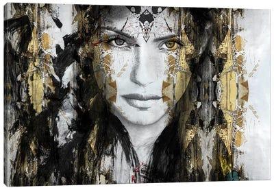 Thunder Canvas Art Print