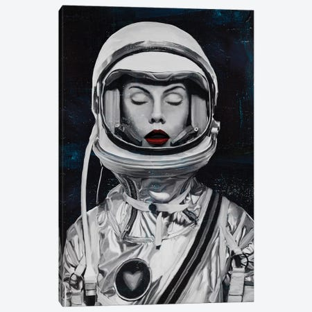 Astronauta Canvas Print #CWD5} by Caroline Wendelin Canvas Print