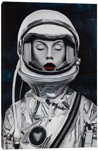 Astronauta Canvas Art Print