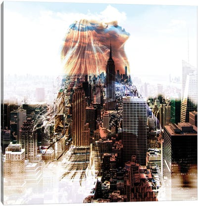City Portrait New York Canvas Art Print