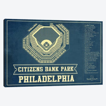 Philadelphia Citizens Bank Park II Canvas Print #CWE117} by Cutler West Canvas Wall Art
